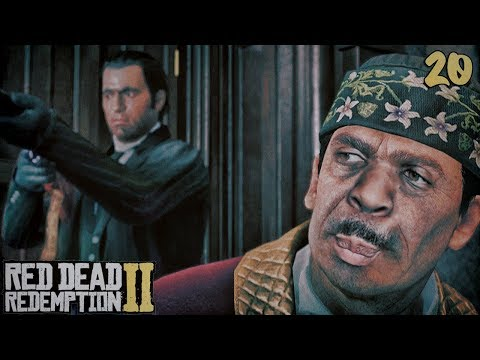 Red Dead Redemption 2 Walkthrough Part 20 - THIS DUDE IS A BOSS