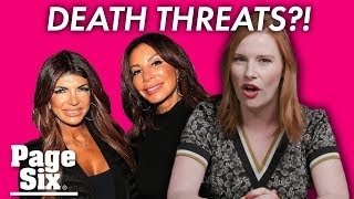 Danielle Staub's death threats tops this week's 'Housewives' entertainment news | Page Six