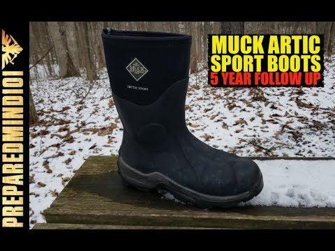 5 Year Follow Up: Muck Artic Boots  - Preparedmind101