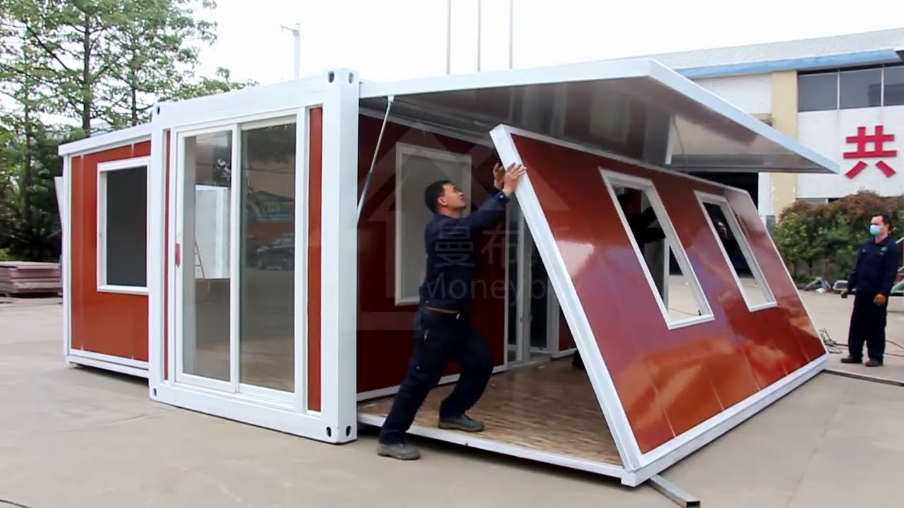 Luxury Expandable Container House Youtube