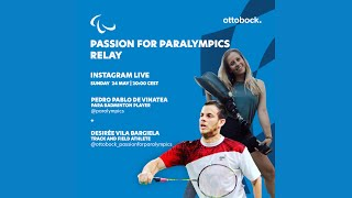 Passion for Paralympics relay -- Live Instagram interview with Desirée Vila Bargiela en español