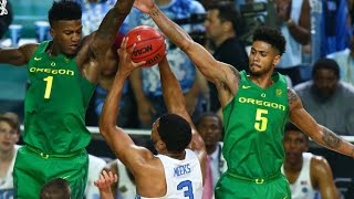 Oregon vs. North Carolina: Game Highlights