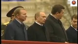 #Янукович#Путин#Медведев#Кучма  #Прикол Янукович угощает