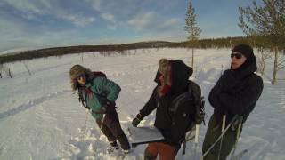 Winter hiking in Lemmenjoki 2017 - Full version