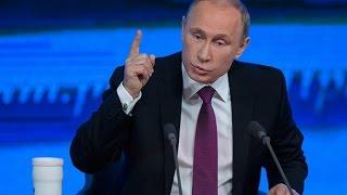 Пресс-конференцию Путина разобрали на цитаты
