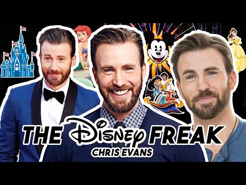 CHRIS EVANS IS THE ULTIMATE DISNEY FREAK  Funny Moments