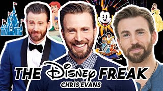 CHRIS EVANS IS THE ULTIMATE DISNEY FREAK | Funny Moments