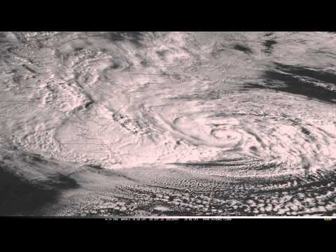 Hurricane Sandy Super Rapid Scan Operations Visible Imagery