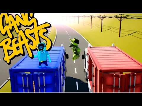 THE SACRIFICE!!!!! (Gang beasts funny moments)