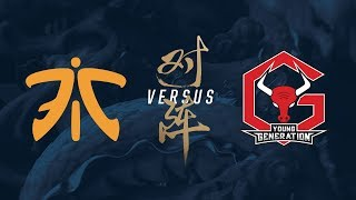 FNC vs. YG | Play-In Day 4 | 2017 World Championship | Fnatic vs. Young Generation