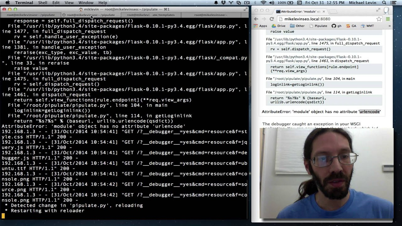 Building OAuth2 login link with Python 3 urllib urlencode
