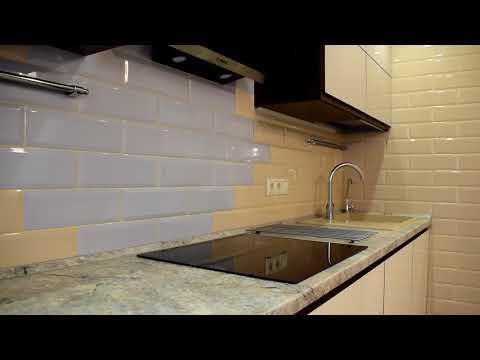 Кухонный гарнитур коллекции Boca. Пример интерьера кухни в современном стиле.