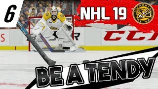 NHL 19 - BE A TENDY   EPISODE 6   MY TEAM IS CLEARLY MAD I LEFT FOR 2 WEEKS