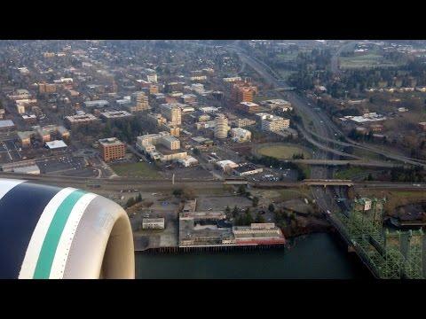 San Francisco (SFO) to Portland (PDX) flight: SF Bay, Clear Lake CA, Vancouver WA 2015-01-02