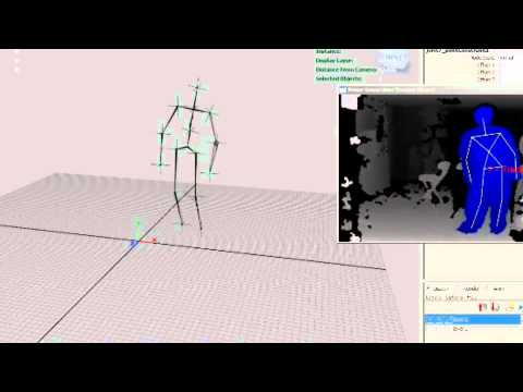 maya with kinect openni realtime capture test youtube. Black Bedroom Furniture Sets. Home Design Ideas