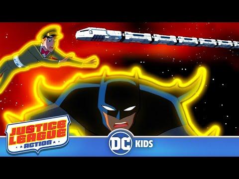 Justice League Action   Catch That Space Train!