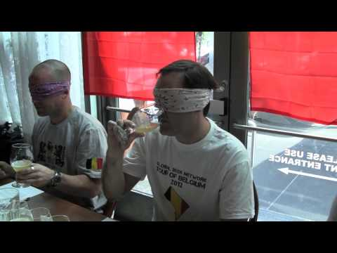 Belgian Beer Blind Taste Test