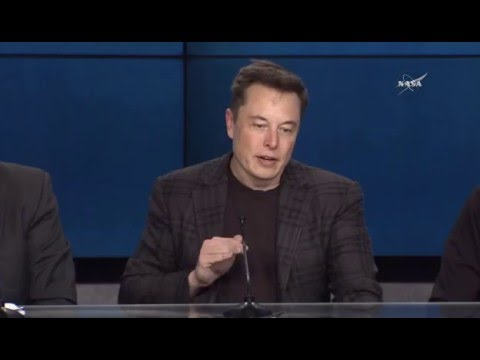 SpaceX Falcon 9 / Dragon CRS-8 Postlaunch Press Conference