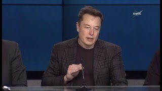 SpaceX Falcon 9 / Dragon CRS-8 Postlaunch Press Conference