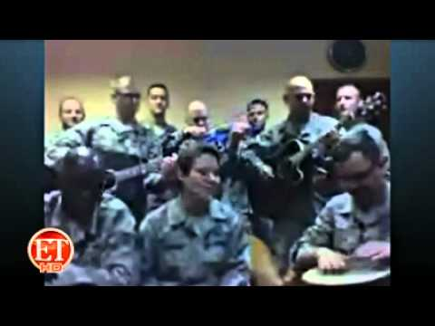 Download Youtube: Deployed Soldiers Perform Adele Hit for ETonline.