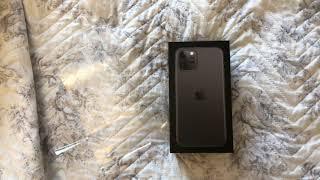 Розпакування iPhone 11 pro для сайту irecommend