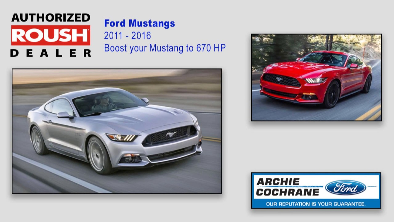 Archie Cochrane Ford >> Roush Performance Products At Archie Cochrane Ford