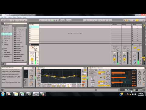 Ableton Live - Using audio plugins to hear your Mp3`s or Wav files
