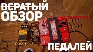 Домашний обзор гитарных педалей | Boss DS-2 и Digitech Whammy DT