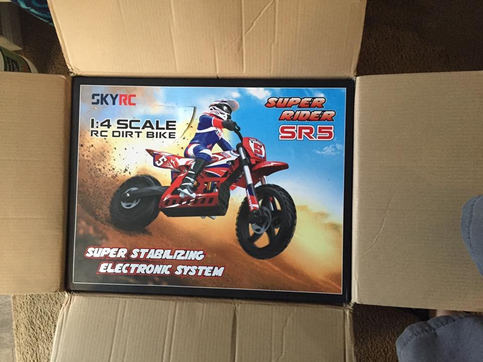Skyrc Sr5 1 4 Scale Super Rider Rc Dirt Bike First Runs Review