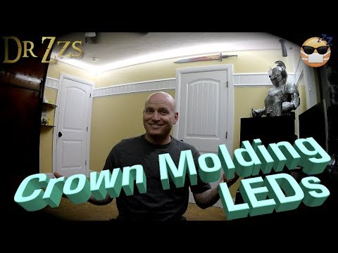 LEDs and Corner Molding make any room look amazing for $1/ft