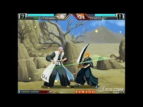 bleach:-the-blade-of-fate-nintendo-ds-gameplay