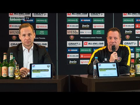 18. Spieltag | FCN - SGD | Pressekonferenz vor dem Spiel