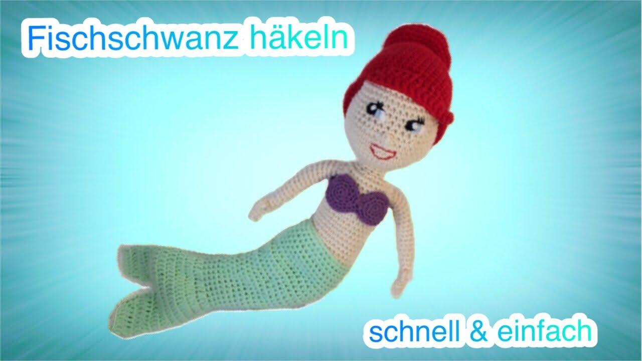 Diy Wie Du Deiner Puppe Einen An Und Ausziehbaren Fischschwanz