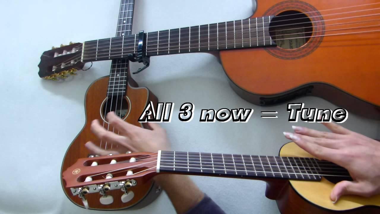 How To Play Ukulele Tutorial Difference Between Guitar Ukulele