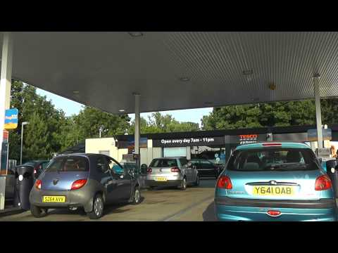 Driving Along Swinesherd Way, Whittington Road, London Road & Sidbury, Worcester, England