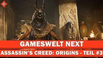 Das alte Ägypten und die Open World | GamesweltNEXT Teil #3
