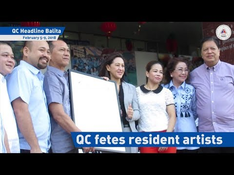 QC fetes resident artists