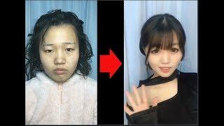 Vịt hóa thiên nga - Đỉnh cao của makeup - Makeup challenge - Makeup Art  #2