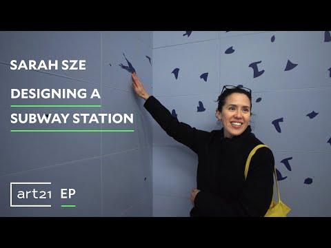"Sarah Sze: Designing a Subway Station | Art21 ""Extended Play"""