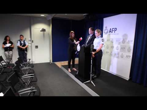 ACT Policing Media stand-up regarding Canberra shootings