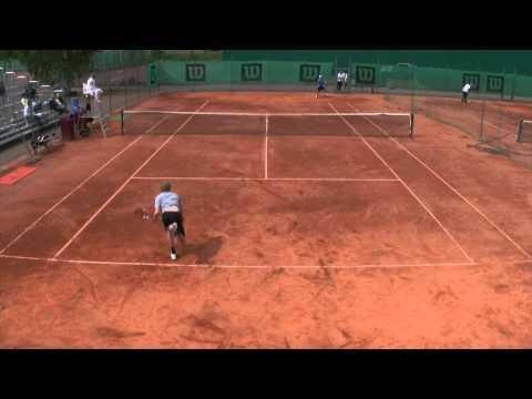 Tenniksen yleisten luokkien SM-kilpailuiden miesten kaksinpelin finaaliottelu (30.6.2012)