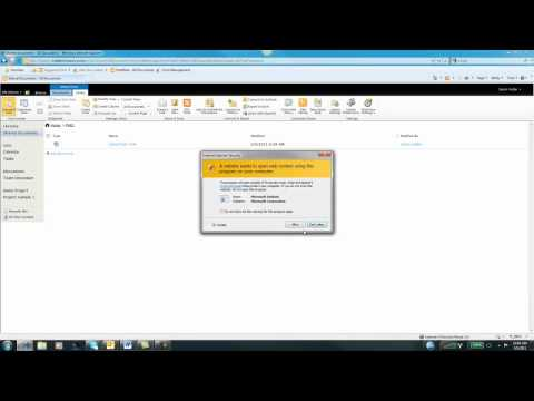 Create A Document Library In SharePoint 2010 (Part 1)