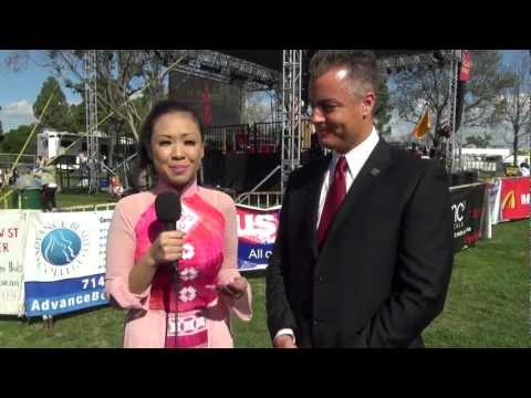 Tet Festival 2013- Interview with Assemblymember Travis Allen (English & Vietnamese)