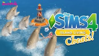 The Sims 4 Island Living CHEATS!