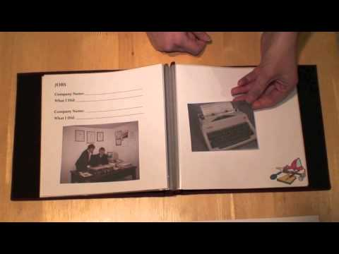 mindstart this is my life memory book creating and using in dementia care youtube. Black Bedroom Furniture Sets. Home Design Ideas