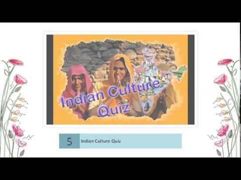 Indian History and Culture General knowledge Quiz