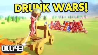 Totally Accurate Battle Simulator - EPIC DRUNK WARS! (T.A.B.S Gameplay)