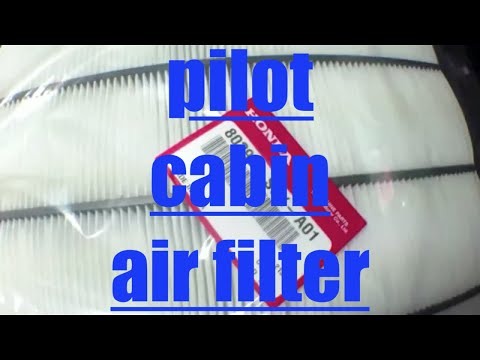 [JUST FOLLOW] replace cabin air filter Honda Pilot√