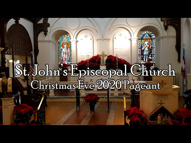 St. John's Christmas Eve Pageant 2020