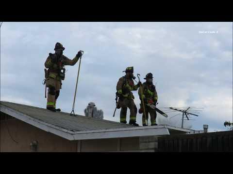 National City Residential Fire On K St. 11/12/2017